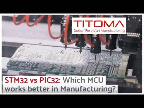 STM32 vs PIC32, Which is Best for Manufacturing?