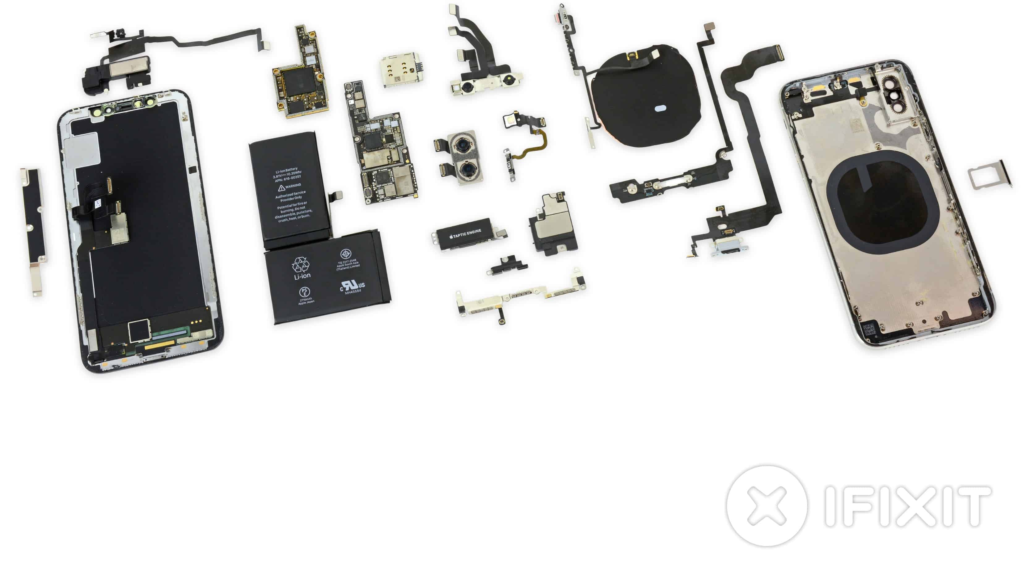 buying Electonics from Chin a-iPhone X teardown by IFIXIT