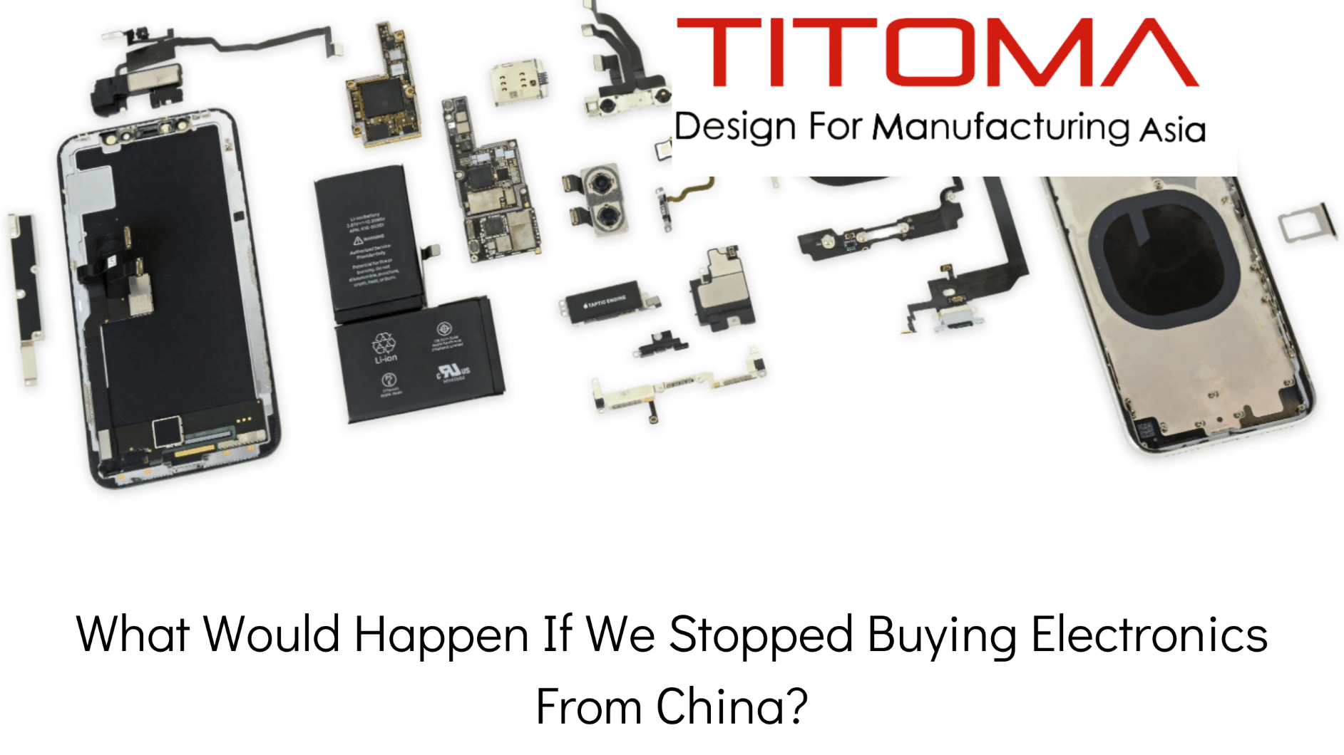 what would happen if we stopped buying electronics from china
