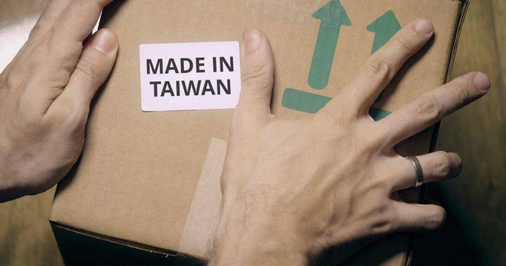 HOW DO I CONVERT MY 'MADE IN CHINA' ELECTRONICS INTO 'MADE IN TAIWAN'?