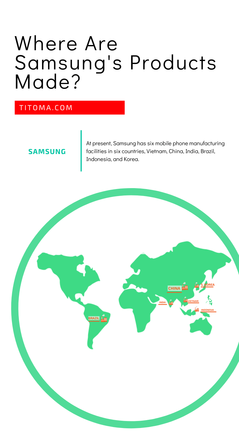 Where are samsung's products made