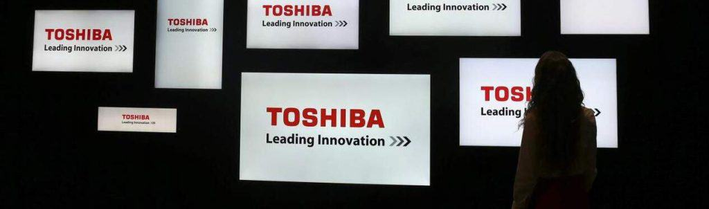 Toshiba is made in china, outsourcing