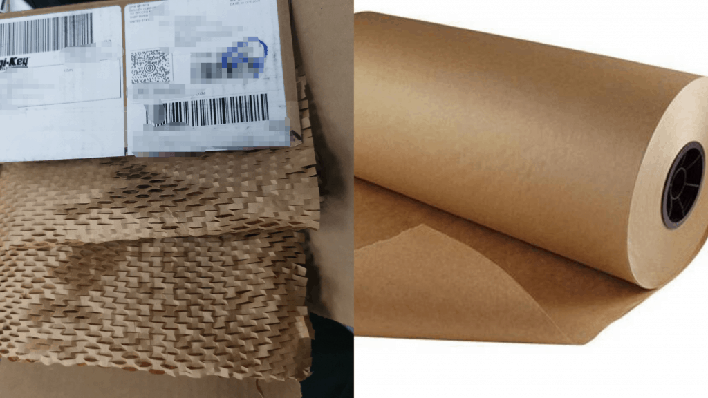 wrapping paper, environmentally friendly for electronics