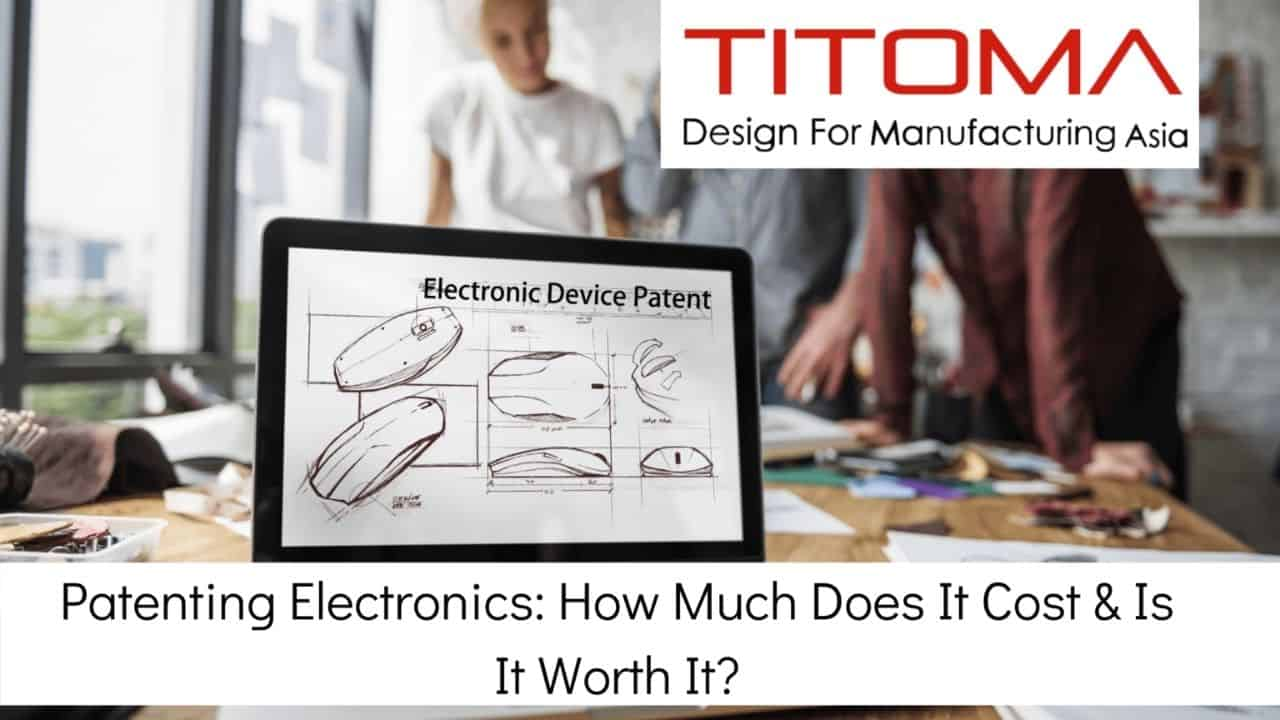 how to patent an electronic device