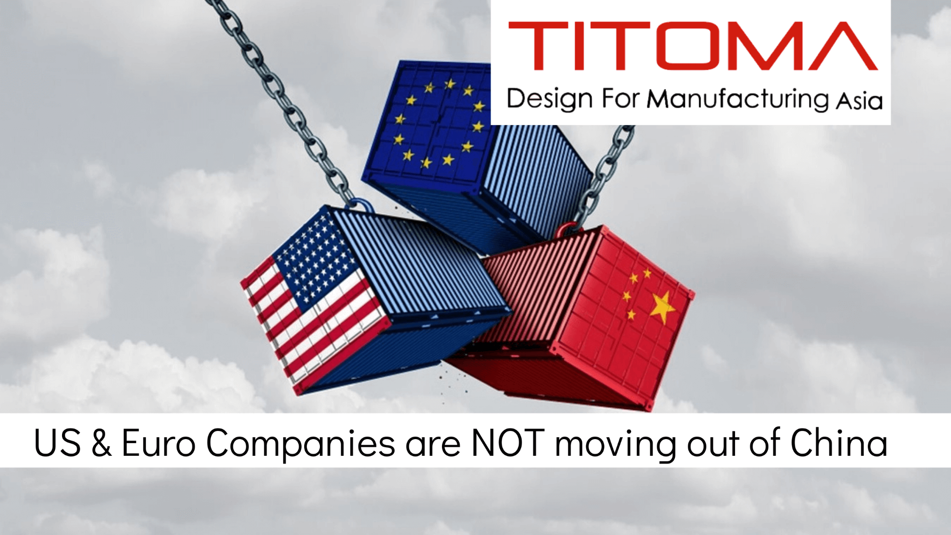 European and US companies are not leaving China