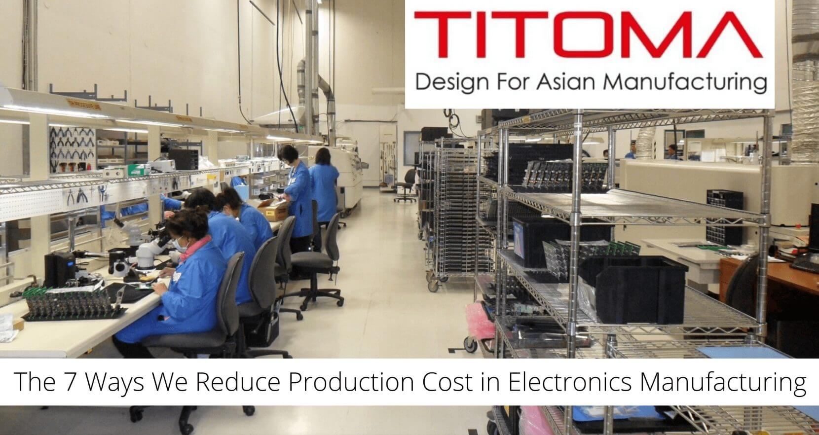 In this article, we will see how to technically reduce the production cost