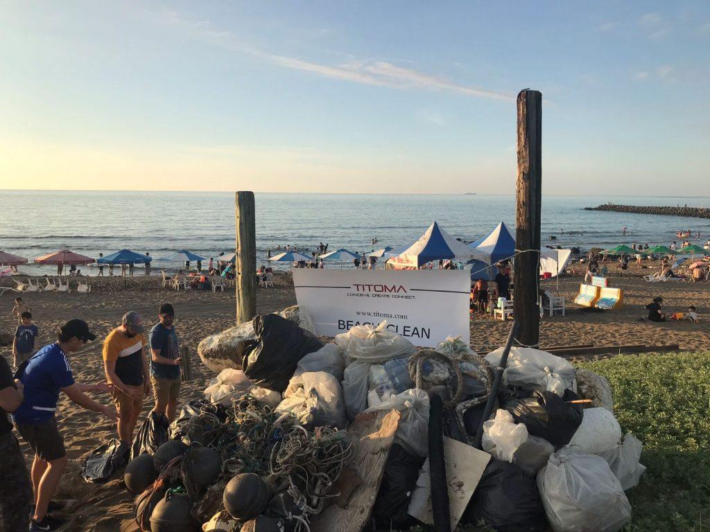 Titoma Beach Clean 2020 7