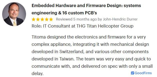 TITOMA customer review