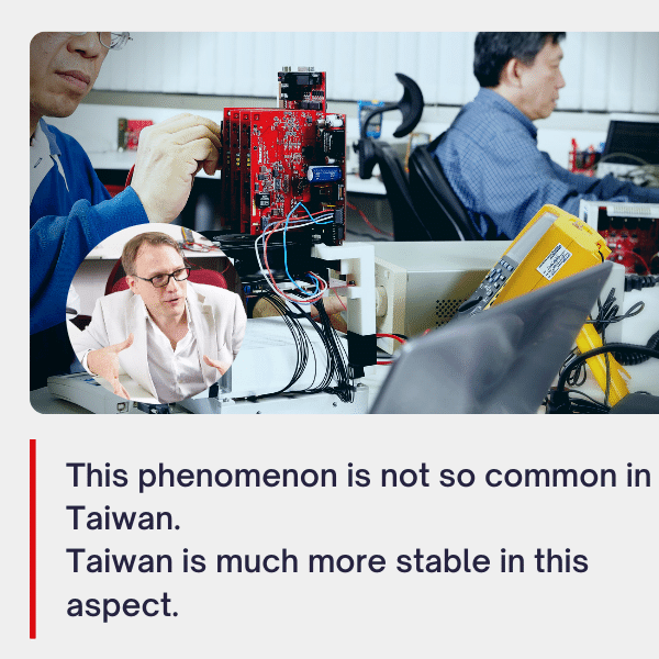China vs Taiwan what's best for businees