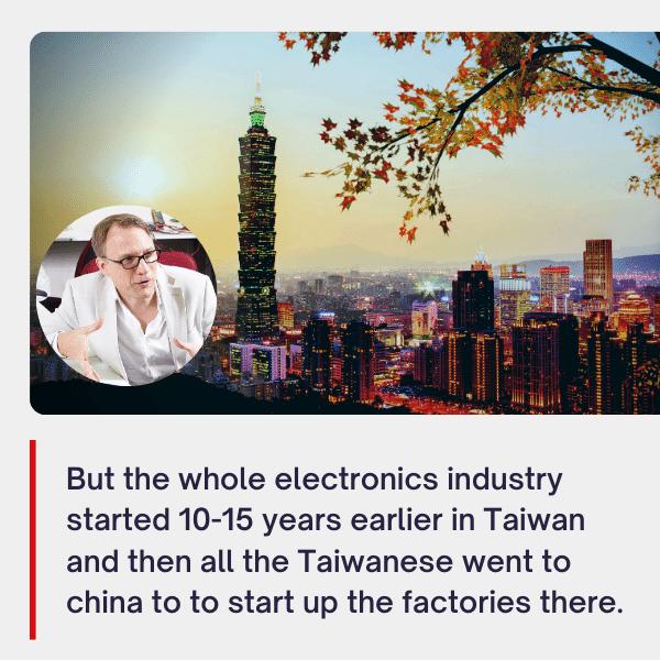 Electronics Made in Taiwan R.O.C