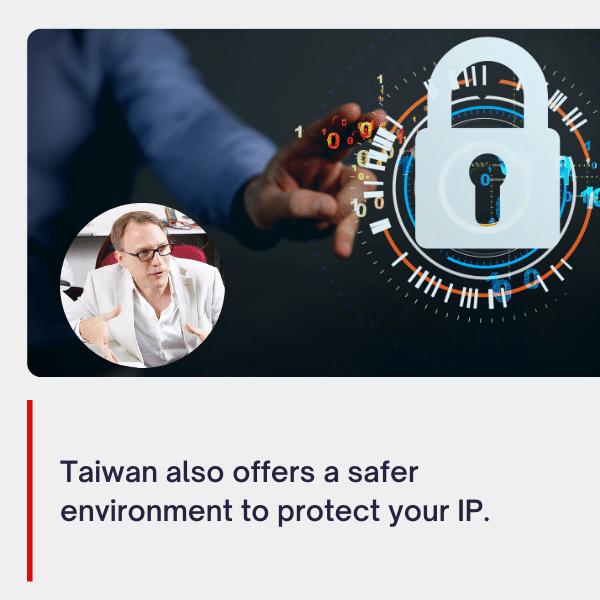 Taiwan is better than China at protecting IP