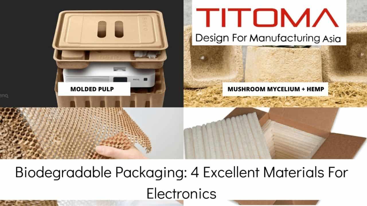 4 biodegradable packaging materials