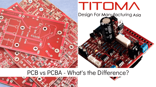 PCB vs PCBA what is the difference