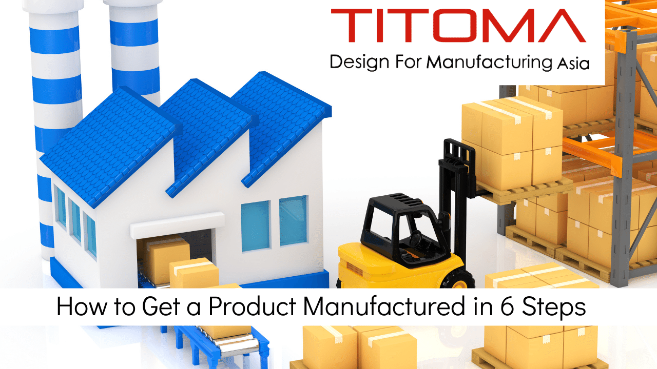 How to manufacture a product in 6 steps
