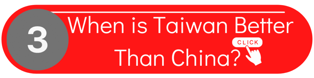 ODM when is taiwan better than china