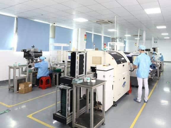 New Poshton factory SMT