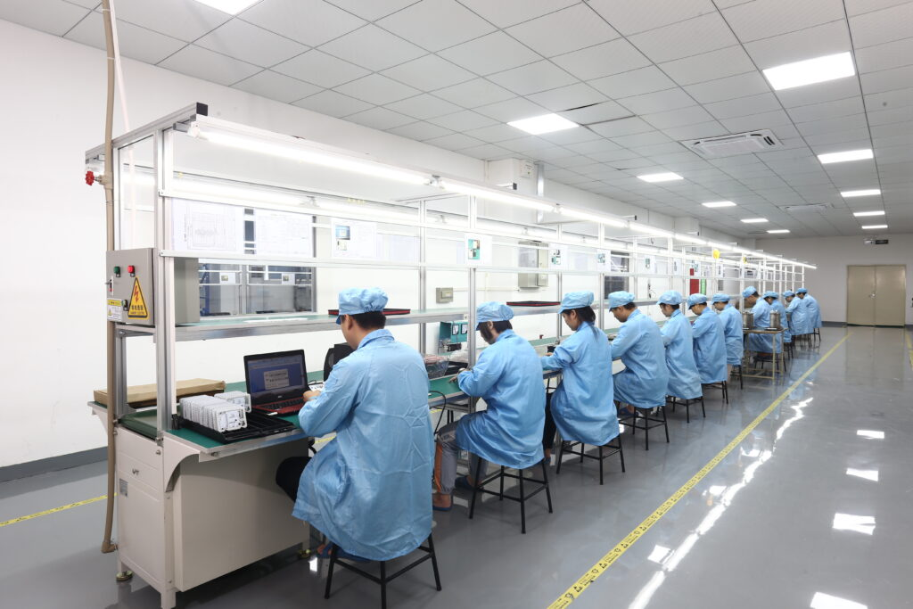 new factory assembly room