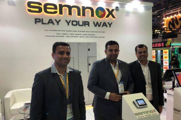 SEMNOX 2018 dubai booth