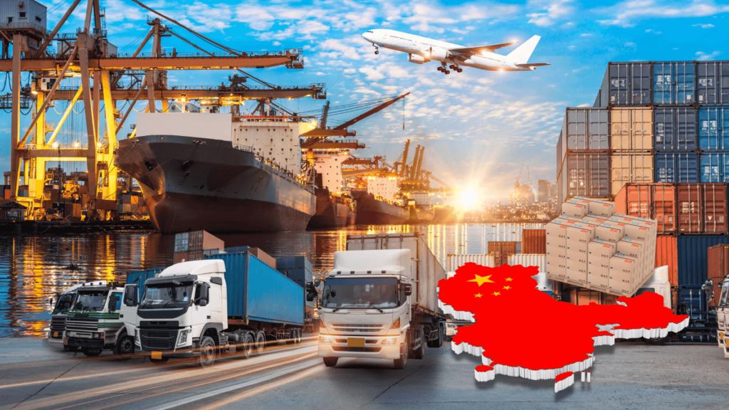 Sistema logistico de china