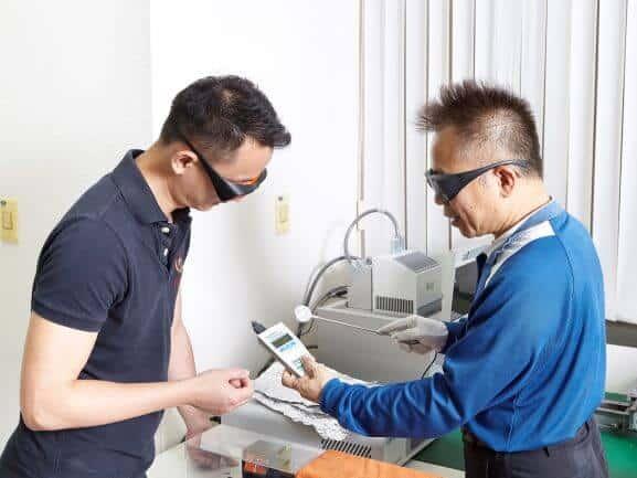 Titoma UV testing