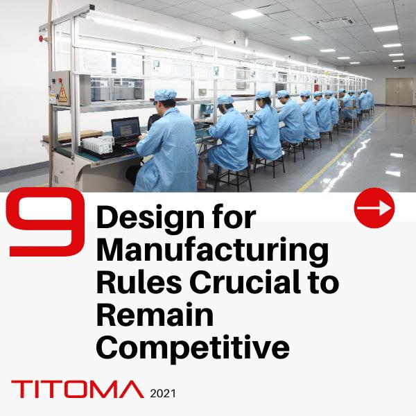 DFM Design for manufacturing