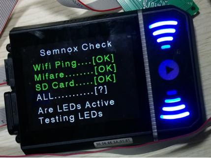 semnox wifi testing