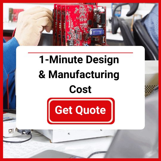 Manufacturing quote calculator