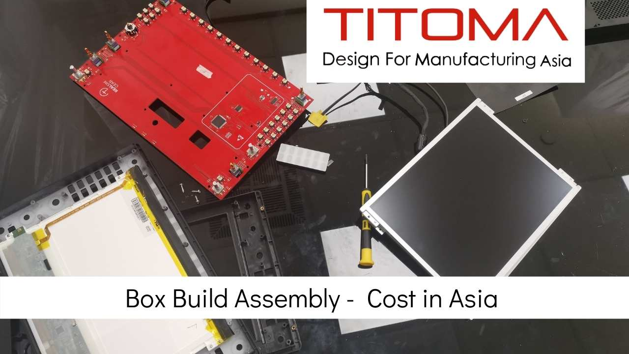 Box Build Assembly Cost in Asia