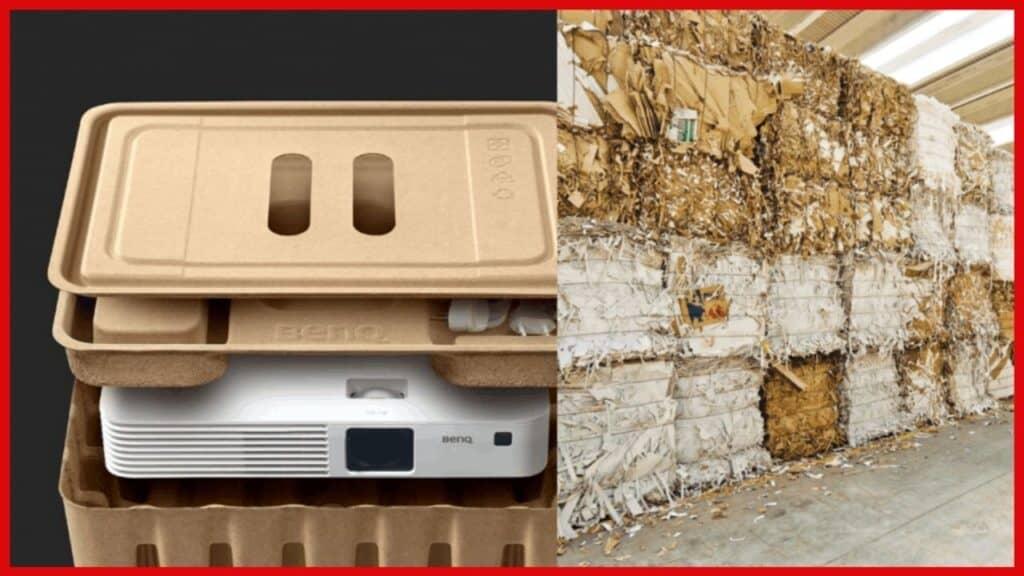 molded pulp biodegradable box electronics